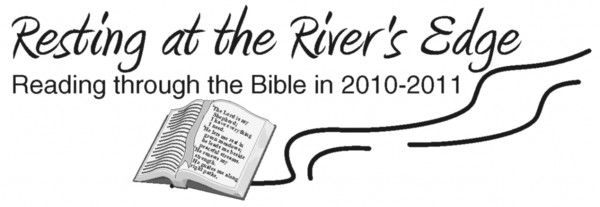 Resting at the River's Edge Logo 2010-2011