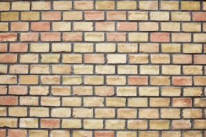 Firm Foundation Brick wall
