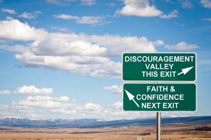 From Discouragement to Faith and Confidence