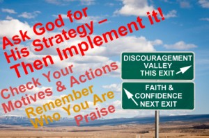 Ask God for His Strategy - Then Implement It