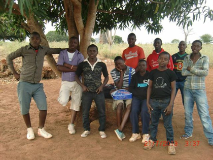 Teenage Boys Ministered to by Orphans Unlimited